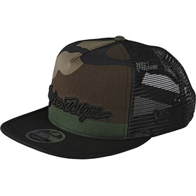 Troy Lee Designs Signature Snapback Cap army camo